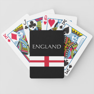 England Bicycle Playing Cards