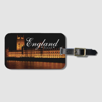 England Bound Bag Tag