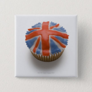 England, Britain, english, union jack, fairy 2 Inch Square Button