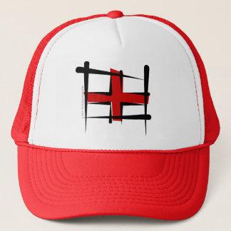 England Brush Flag Trucker Hat