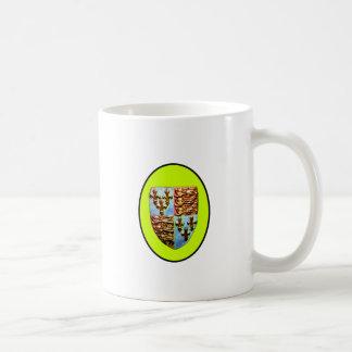 England Canterbury Church Crest Yellow bg The MUSE Coffee Mug