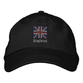 England Cap - UK Flag Hat Embroidered Hats