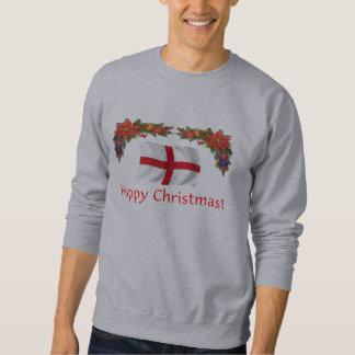 England Christmas Sweatshirt