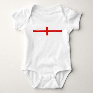 england country flag long symbol english name text baby bodysuit