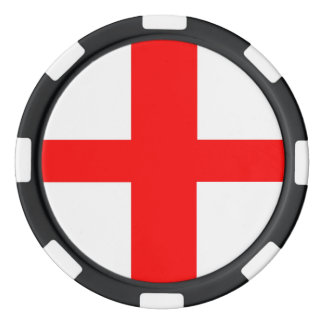 england country flag long symbol english name text poker chips