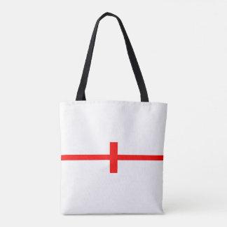 england country flag long symbol english name text tote bag