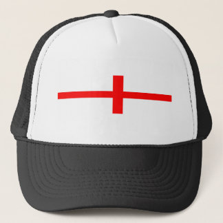england country flag long symbol english name text trucker hat