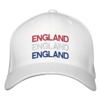 ENGLAND EMBROIDERED HATS
