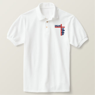 England embroidered mens POLO