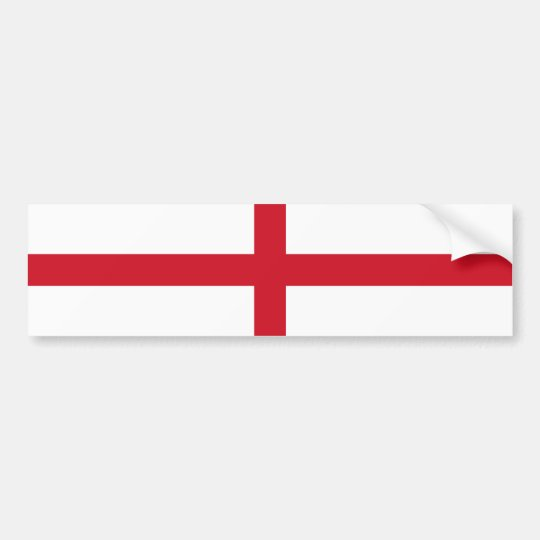 England/English Flag Bumper Sticker