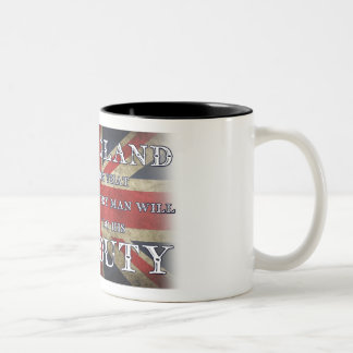 England Expects Every Man Will Do His Duty Two-Tone Coffee Mug