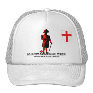 England expects world cup trucker hat