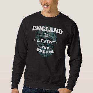 ENGLAND Family Livin' The Dream. T-shirt