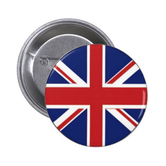 England Flag 2 Inch Round Button
