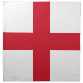 England flag design napkin