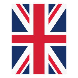 England flag letterhead