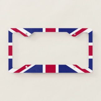 England Flag License Plate Frame