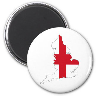 england flag map united kingdom country shape magnet