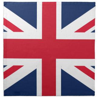England flag napkin