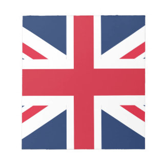 England flag notepad