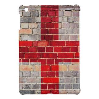 England flag on a brick wall iPad mini case