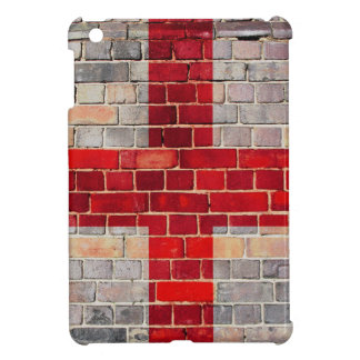 England flag on a brick wall iPad mini covers