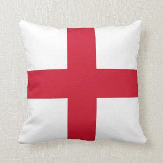 England Flag on American MoJo Pillow