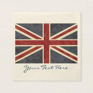 England Flag Party Napkins