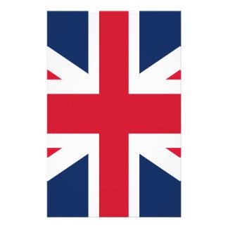 England flag personalized stationery