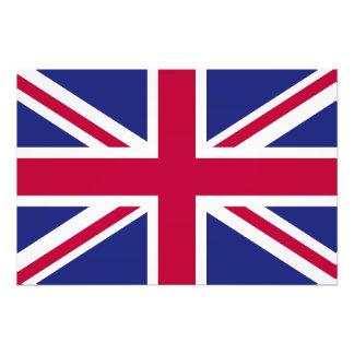 England Flag Art Photo