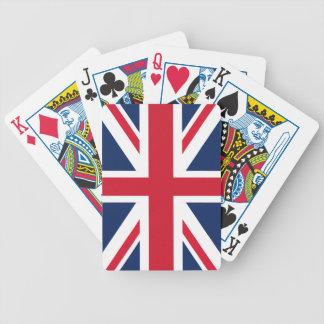 England flag poker deck