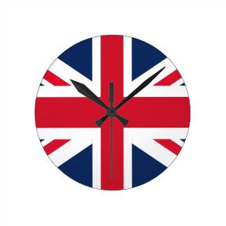 England flag round clock