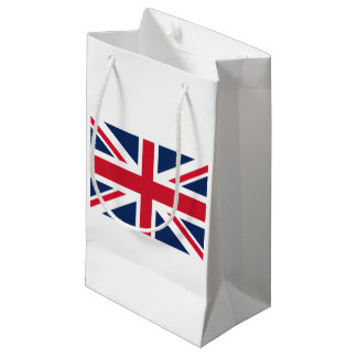 England flag small gift bag