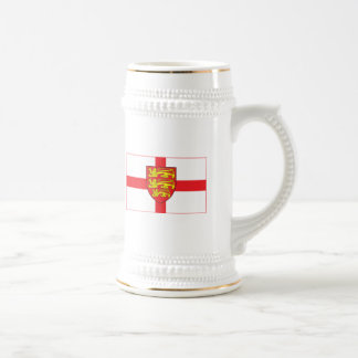 England Flag with coat of arms Mug