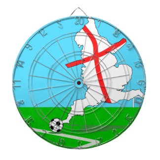 England Football England Kicks For Goal! Dartboard