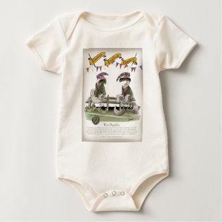 england football pundits baby bodysuit