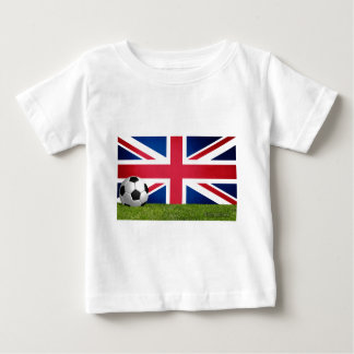 England Futbol - Soccer Baby T-Shirt