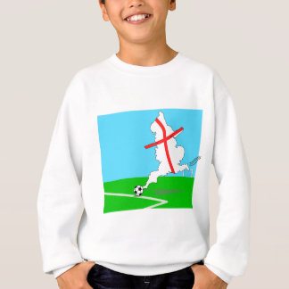 England Kicks For Goal! Fun England Merchandise Sweatshirt