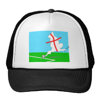 England Kicks For Goal! Fun England Merchandise Trucker Hat