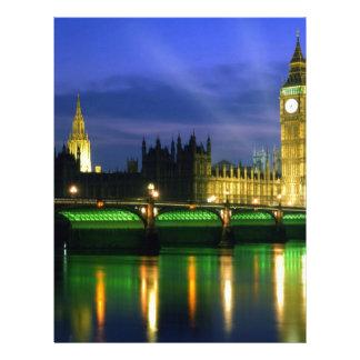 England Landscape Letterhead