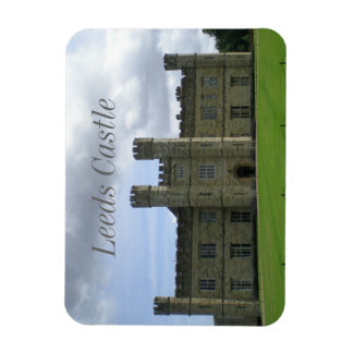 England Leeds Castle Rectangular Photo Magnet