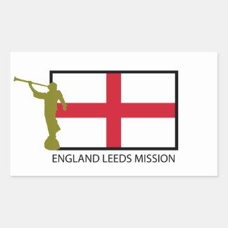 ENGLAND LEEDS MISSION LDS CTR STICKER