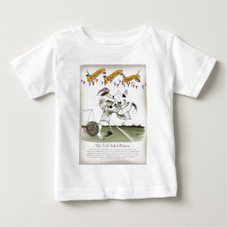 england left wing footballer baby T-Shirt