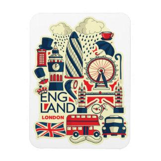 England London Funny Magnet