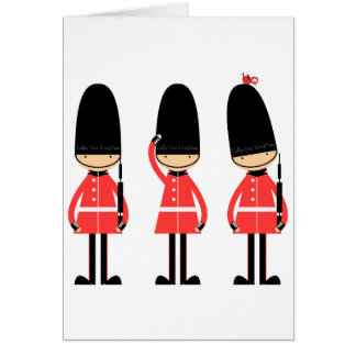 England London Guard Design Card