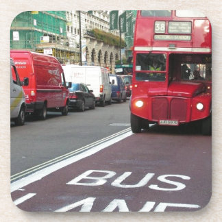 England London RedBus (new) (St.K) Drink Coaster