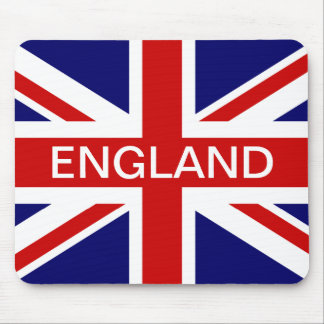 England mouse pad with British union jack flag