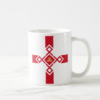England Mug - Anglo-Celtic Cross