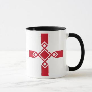 England Mug - Anglo-Saxon Rune Cross