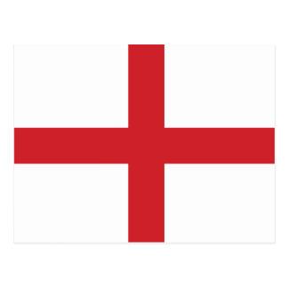 England Plain Flag Post Card
